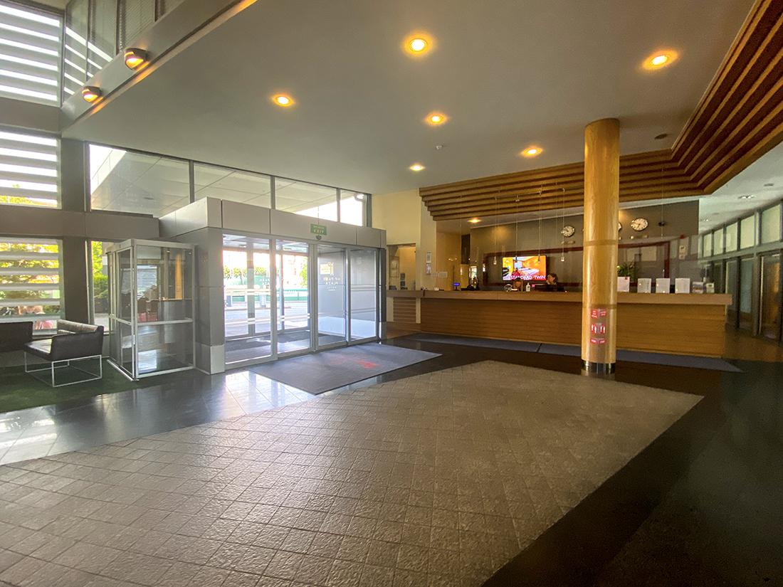 lobby wHotel HP Park Plaza weWrocławiu
