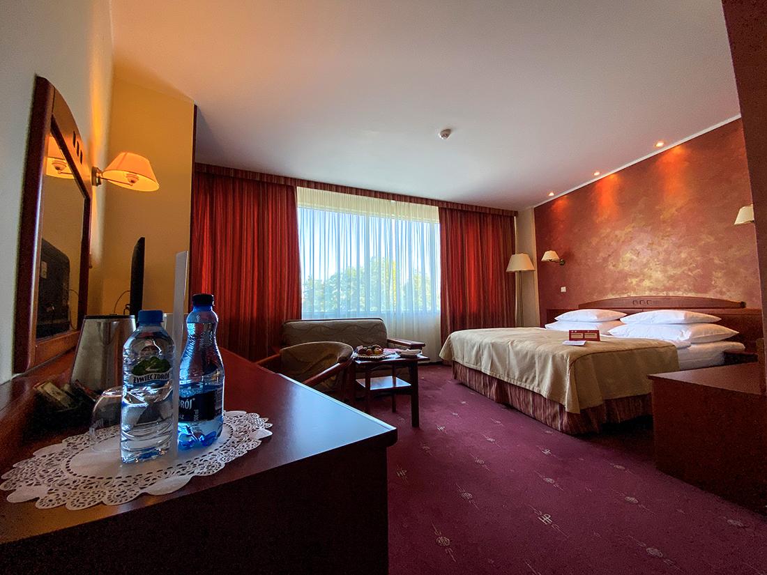 pokój superior wHotel HP Park Plaza weWrocławiu