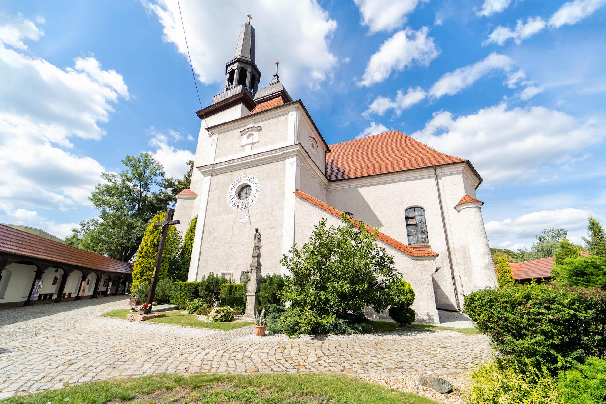 kościół św. Marcina wJarocinie