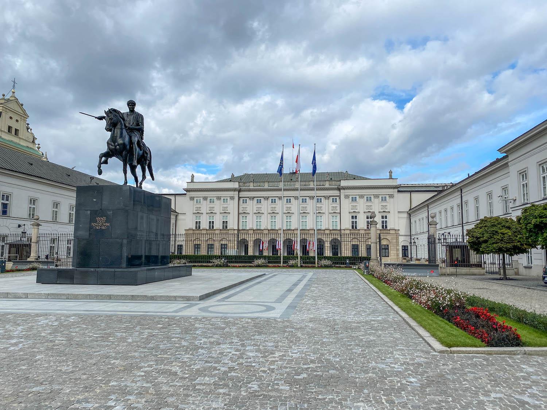 Pałac Prezydencki iPoniatowski