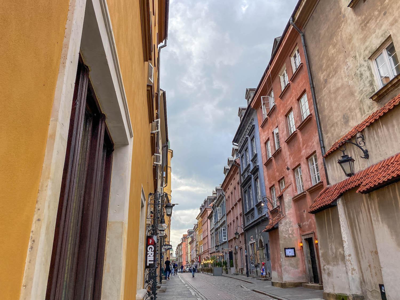 Warszawa Starówka spacer