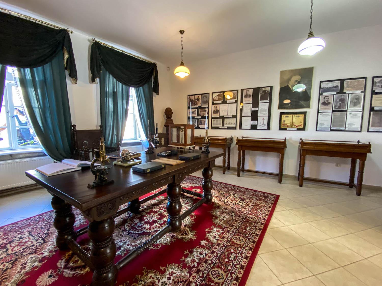 Wolsztyn atrakcje - muzeum Roberta Kocha