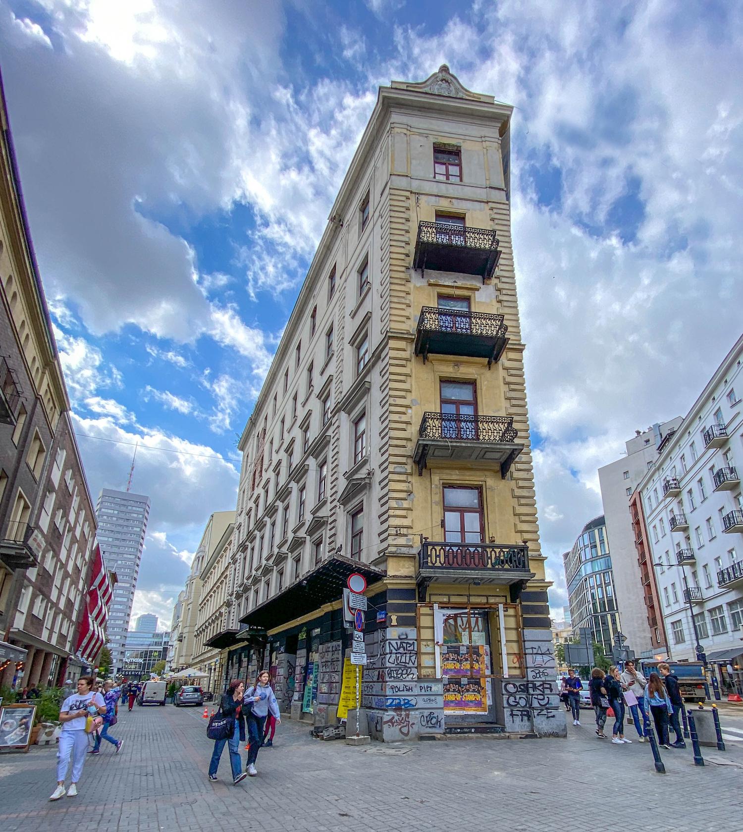 plac pięciu rogów wcentrum Warszawy