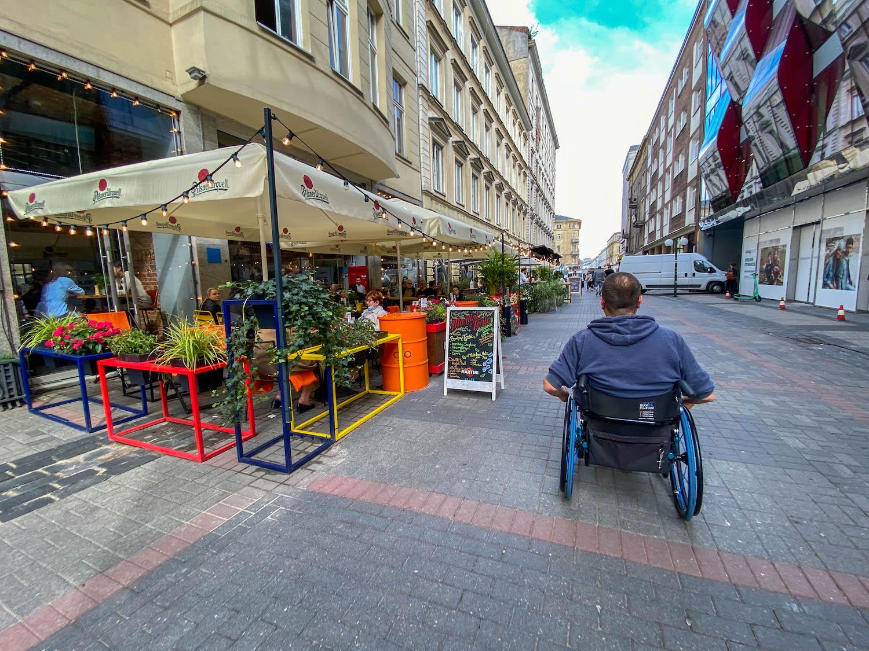 ulica Chmielna - spacer poWarszawie