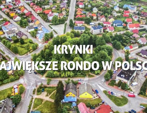 Krynki – największe rondo wPolsce, atuż obok granica zBiałorusią